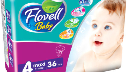 Flovell Baby Maxi Подгузниктери (4)