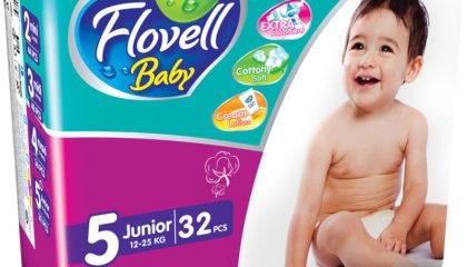 Flovell Baby Junior Подгузниктери (5)